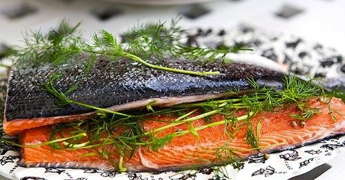 Catering av norrbottensbuffé Capris Catering i Gällivare Malmberget